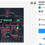Mythical Sci-Fantasy Platformer – Sprite sheets and Tile maps – Free Download Unity Assets