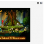 Painted 2D Forest – Free Download Unity Assets