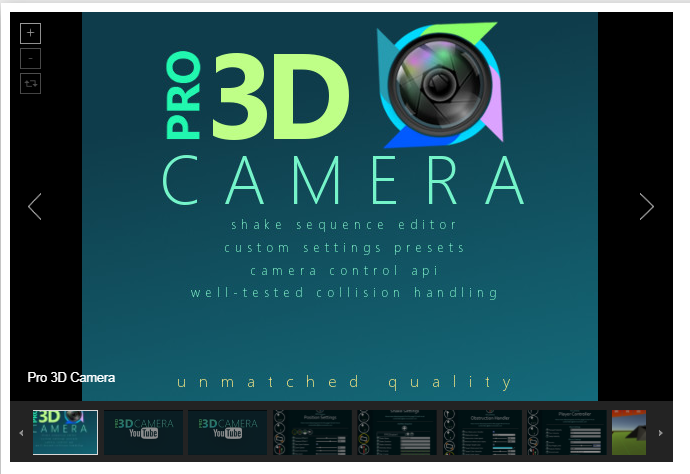 Pro 3D Camera – Free Download Unity Assets