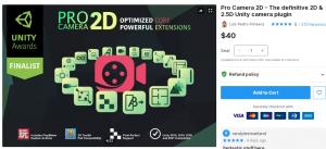 Pro Camera 2D – The definitive 2D & 2.5D Unity camera plugin – Free Download Unity Assets