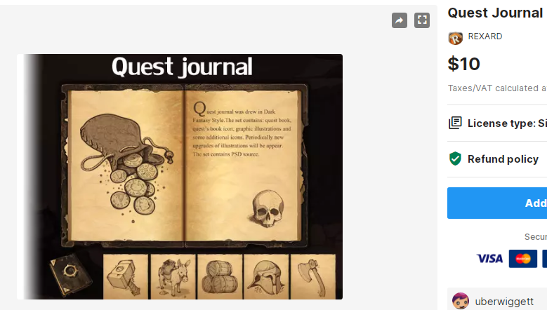 Quest Journal– Free Download Unity Assets