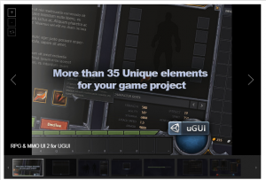 RPG & MMO UI 2 for UGUI – Free Download Unity Assets