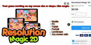 Resolution Magic 2D – Free Download Unity Assets