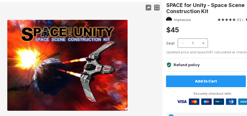 SPACE for Unity - Space Scene Construction Kit – Free Download Unity Assets