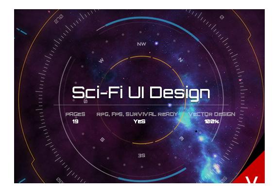 Sci-FI UI Design for uGUI – Free Download Unity Assets