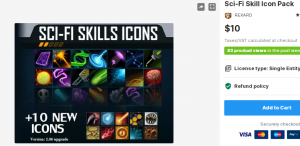Sci-Fi Skill Icon Pack – Free Download Unity Assets