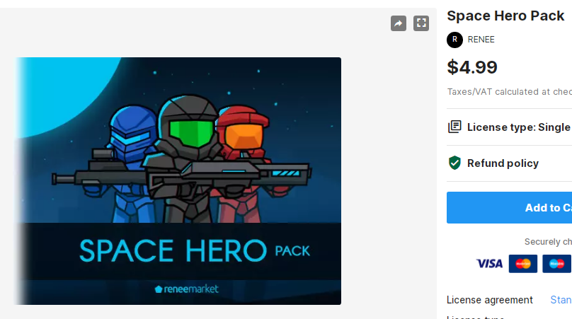 Space Hero Pack – Free Download Unity Assets