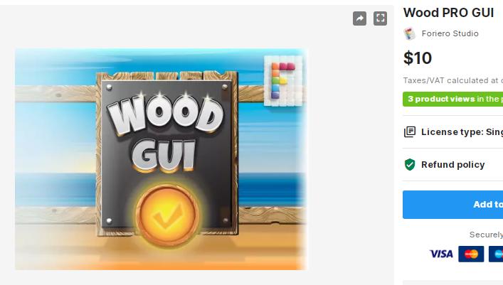 Wood PRO GUI – Free Download Unity Assets