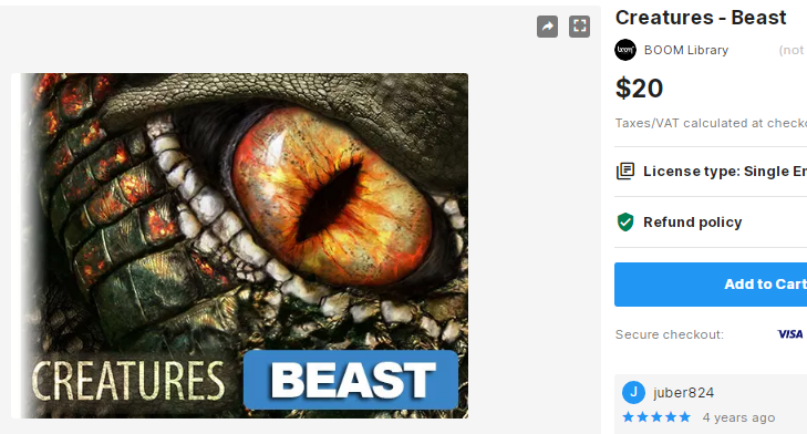 Creatures - Beast – Free Download Unity Assets