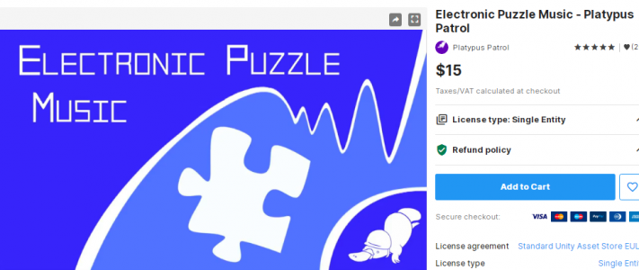 Electronic Puzzle Music – Platypus Patrol – Free Download Unity Assets