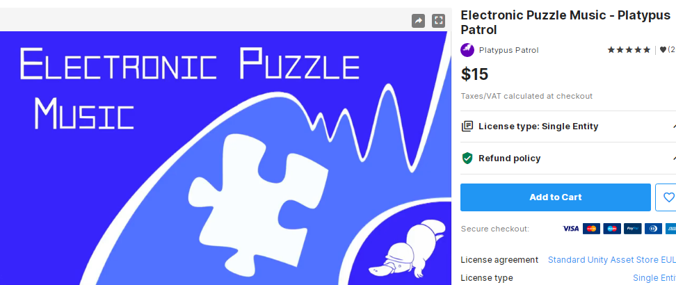 Electronic Puzzle Music - Platypus Patrol – Free Download Unity Assets