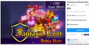Fantasy Loot Audio Pack – Free Download Unity Assets