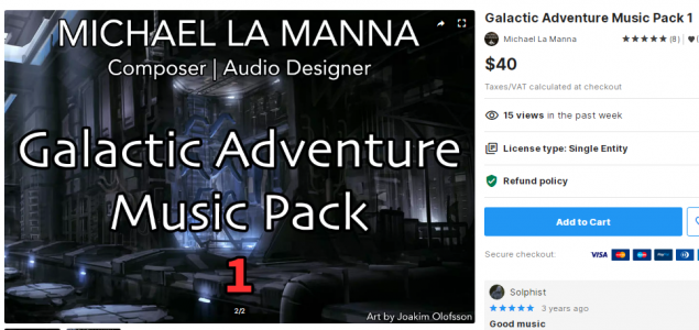 Galactic Adventure Music Pack 1 – Free Download Unity Assets