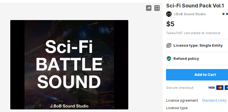 Sci-Fi Sound Pack Vol.1 – Free Download Unity Assets