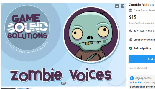 Zombie Voices – Free Download Unity Assets
