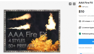 AAA Fire FX – Free Download Unity Assets