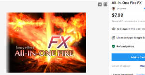 All-in-One Fire FX – Free Download Unity Assets