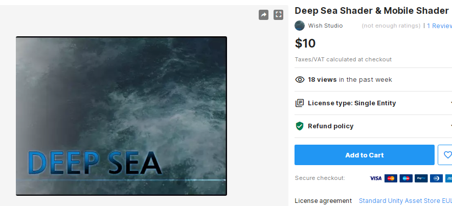 Deep Sea Shader & Mobile Shader – Free Download Unity Assets