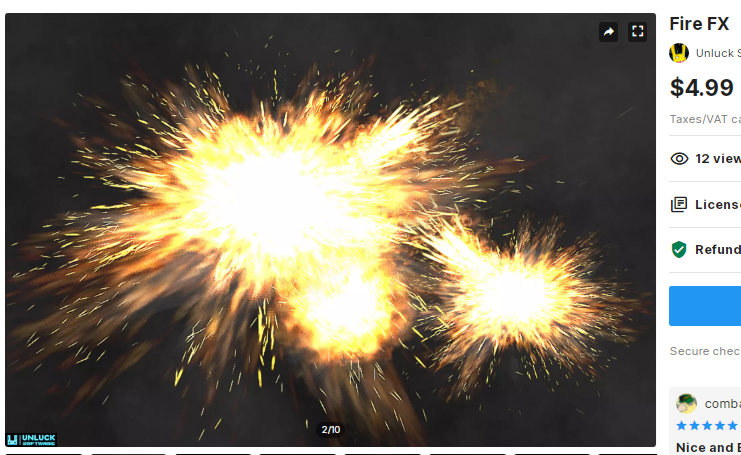 Fire FX – Free Download Unity Assets