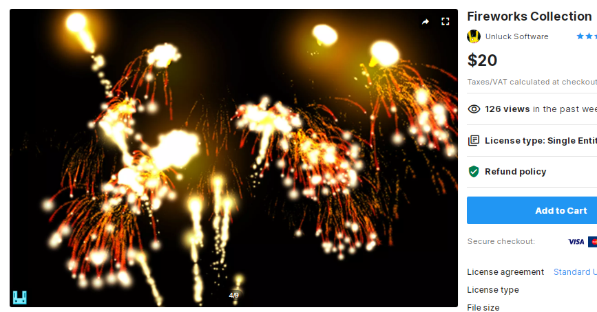 Fireworks Collection – Free Download Unity Assets