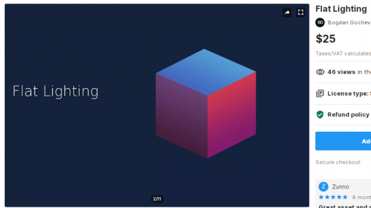 Flat Lighting – Free Download Unity Assets