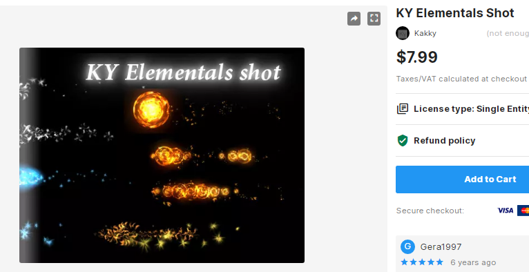 KY Elementals Shot – Free Download Unity Assets