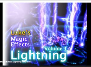 Luke's Magic Effects Lightning Volume 01 – Free Download Unity Assets