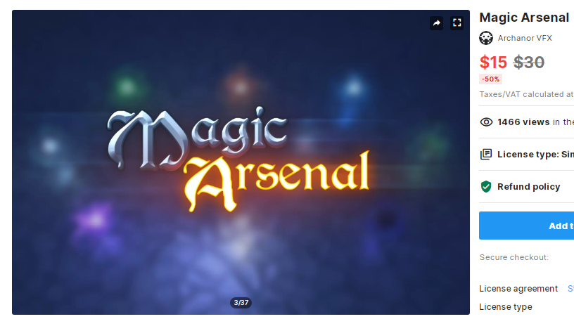 Magic Arsenal – Free Download Unity Assets