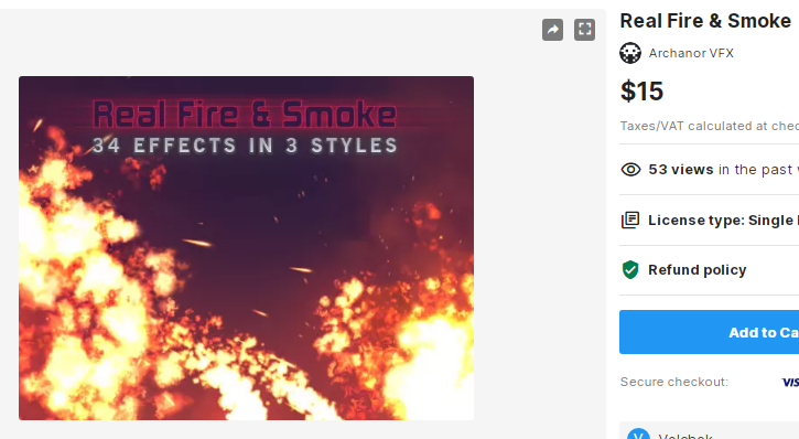 Real Fire & Smoke – Free Download Unity Assets