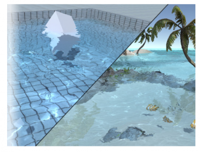 Realistic Water  – Free Download Unity Assets