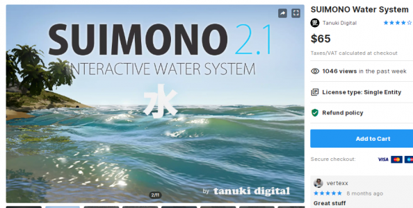 SUIMONO Water System – Free Download Unity Assets