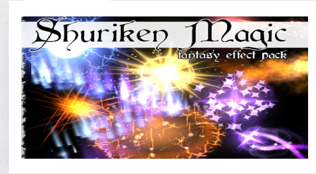Shuriken Magic Effect Pack – Free Download Unity Assets