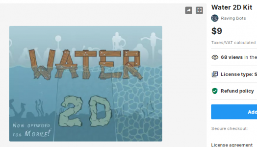 Water 2D Kit – Free Download Unity Assets