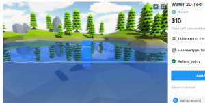 Water 2D Tool – Free Download Unity Assets