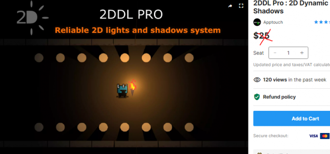2DDL Pro : 2D Dynamic Lights and Shadows – Free Download Unity Assets