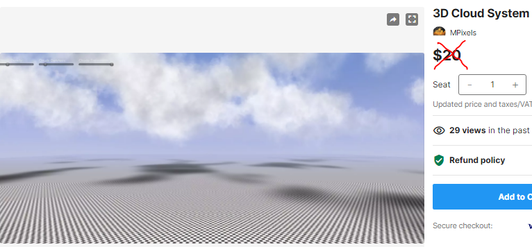 3D Cloud System – Free Download Unity Assets
