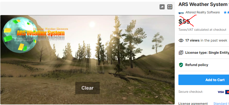 ARS Weather System for Time of Day – Free Download Unity Assets